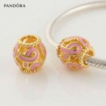 ☆ Or Rose Pandora Charms, Tempérament Noble. ☆