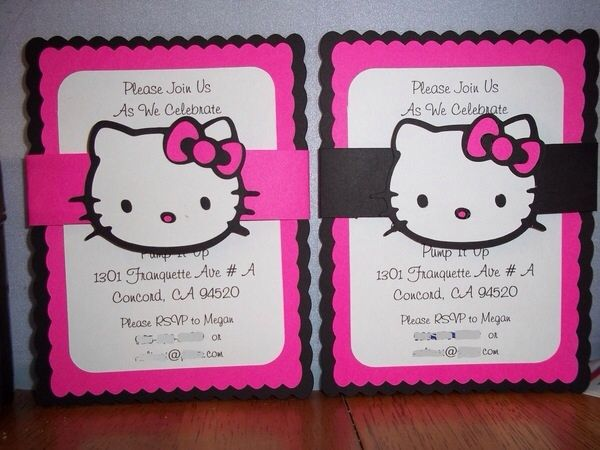 With mickey heads birthday party ideas pinterest hello kitty the purr fect way to invite all your friends to your birthday party you are purchasing 10 custom hello kitty invitations you may choose between 10 hello filmwisefo Image collections