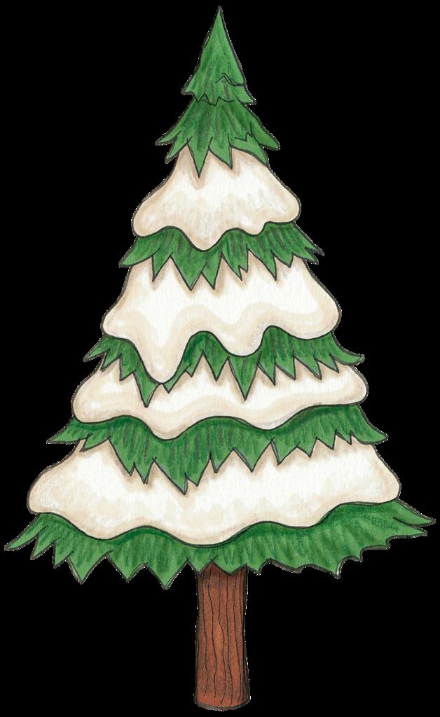 Khadfield Snowytree Png Dessin Noel Image Noel Et Dessins