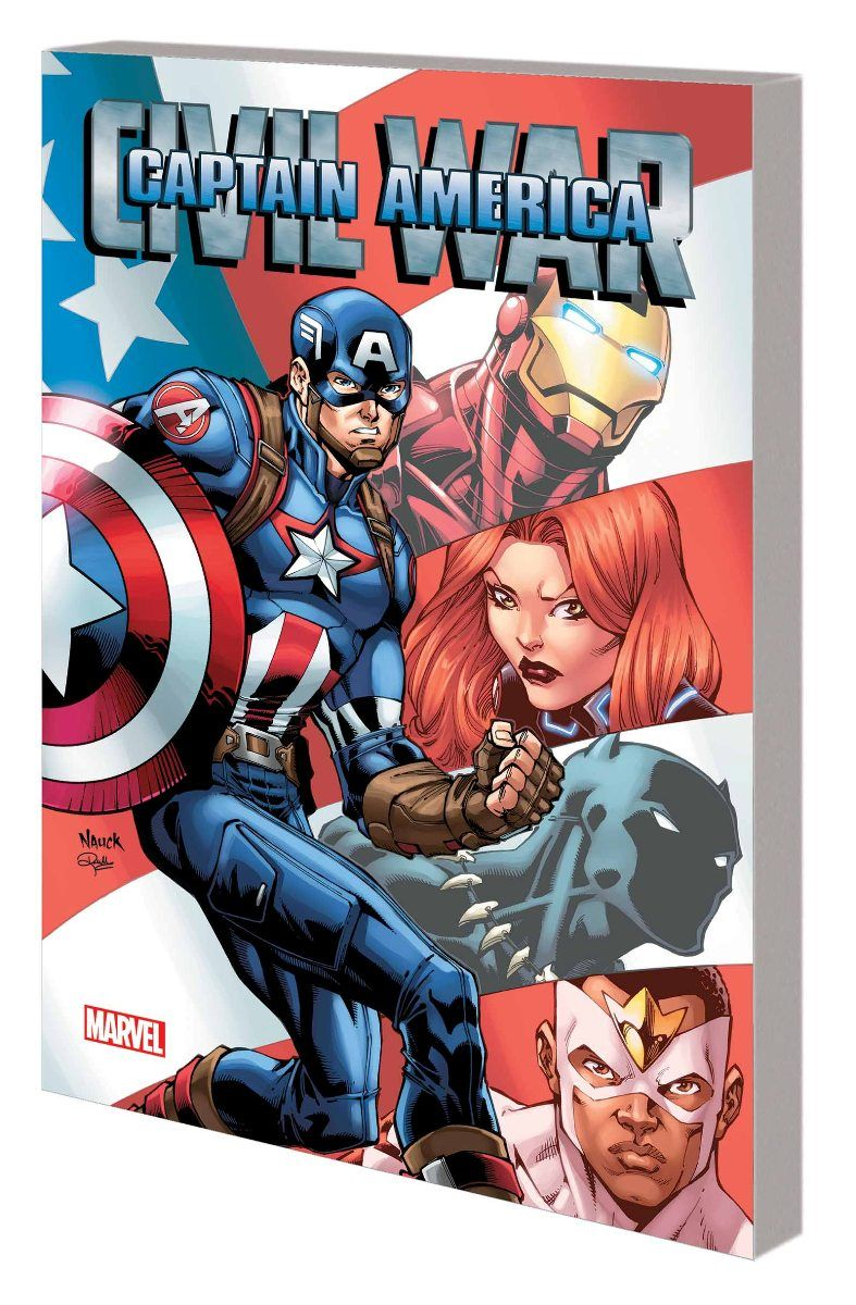 Check Out This Captain America Civil War Comic Book Cover