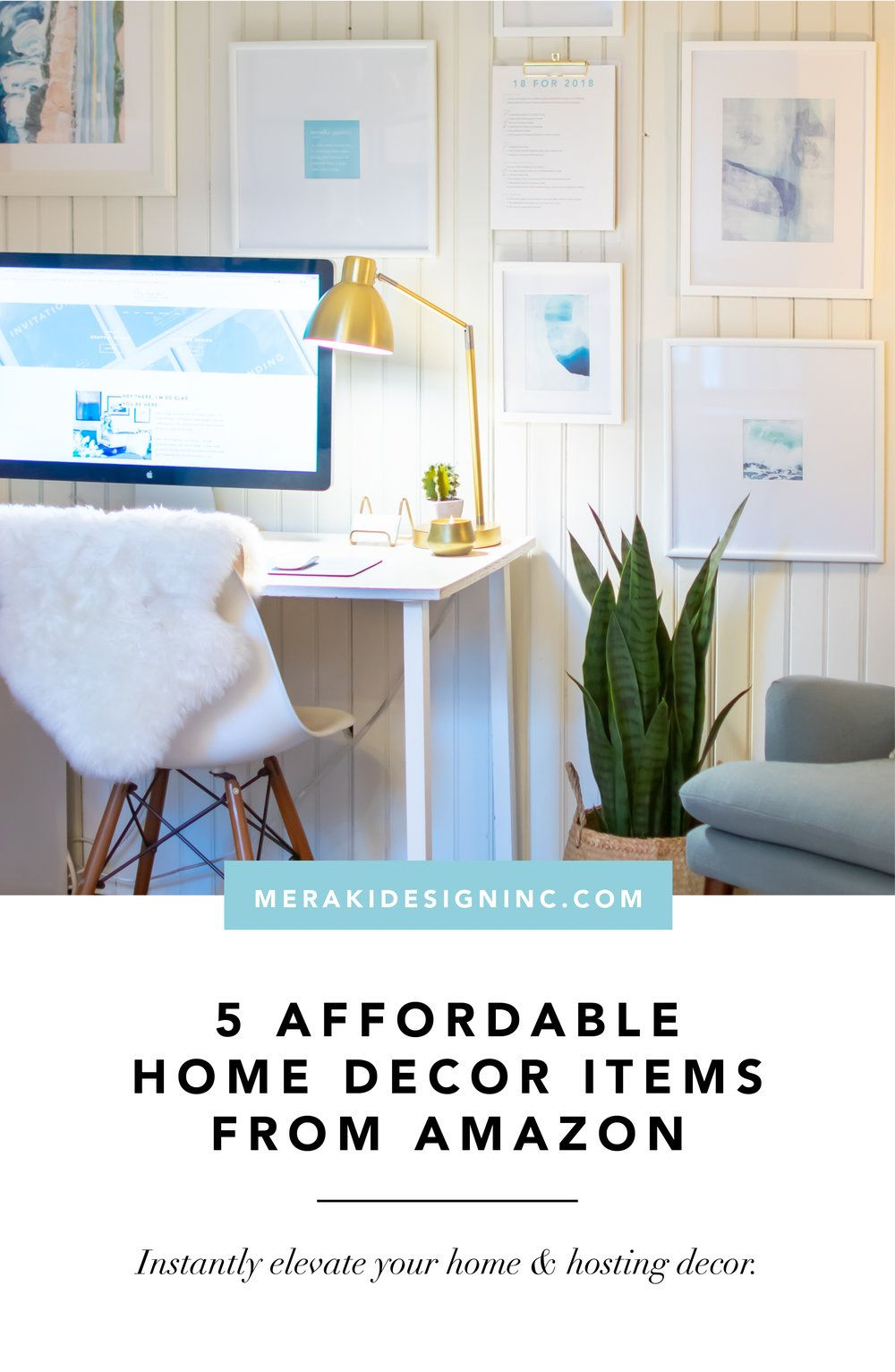 Five Affordable Home Decor Items From Amazon Rental Decor