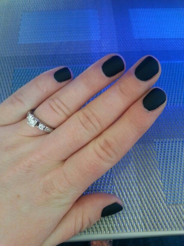 Opi incognito in sausalito with matte topcoat