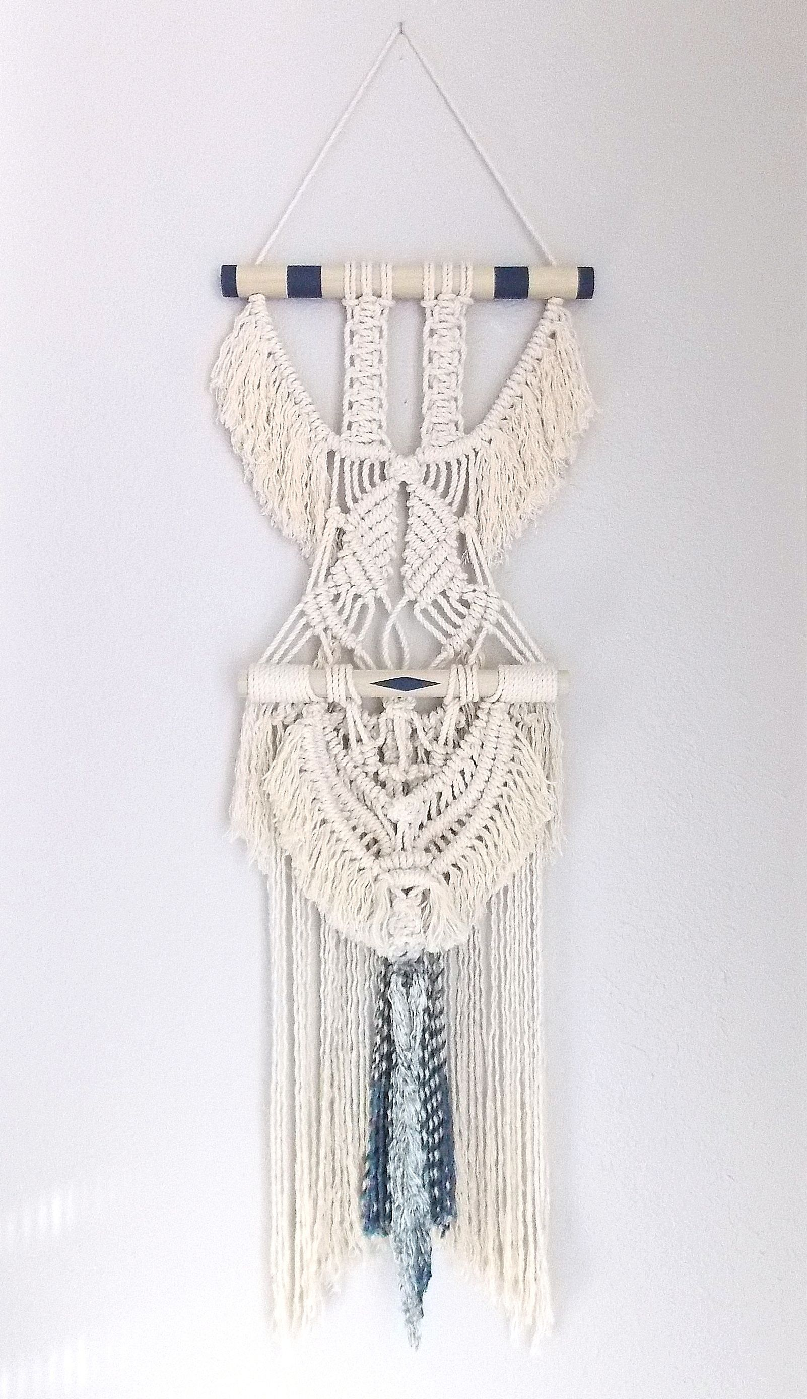 Himo Art For Urban Outfitters Modern Macrame Wall Hanging