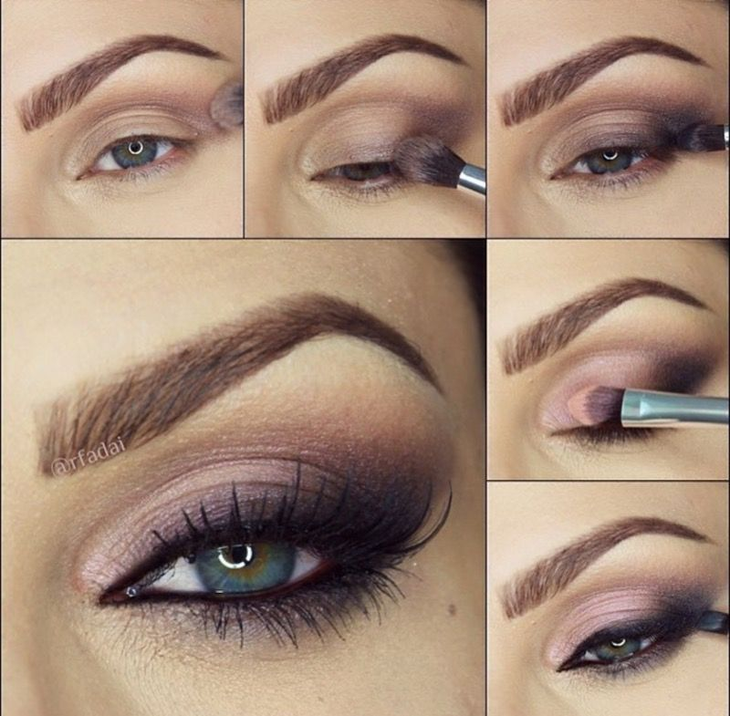 Step By Step Tutorial For This Sexy Cat Eye Look By Rfadai Makeup