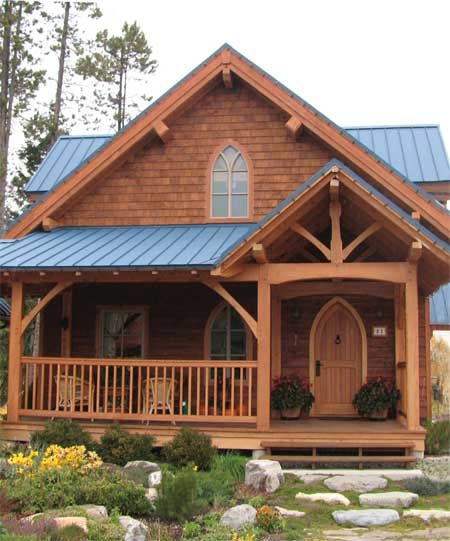 1640 sq ft - Hamill Creek Timber Homes http://www ...