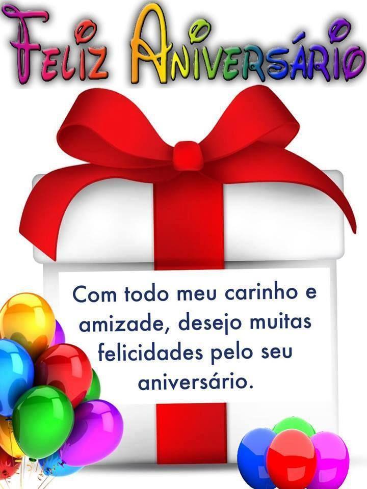 Com Todo Meu Carinho E Amizade Desejo Muitas Felicidades Pelo Seu