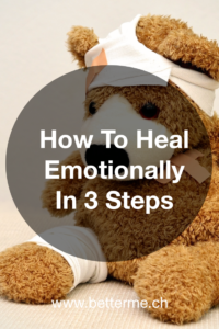 Learn how to heal emotionally in 3 steps!