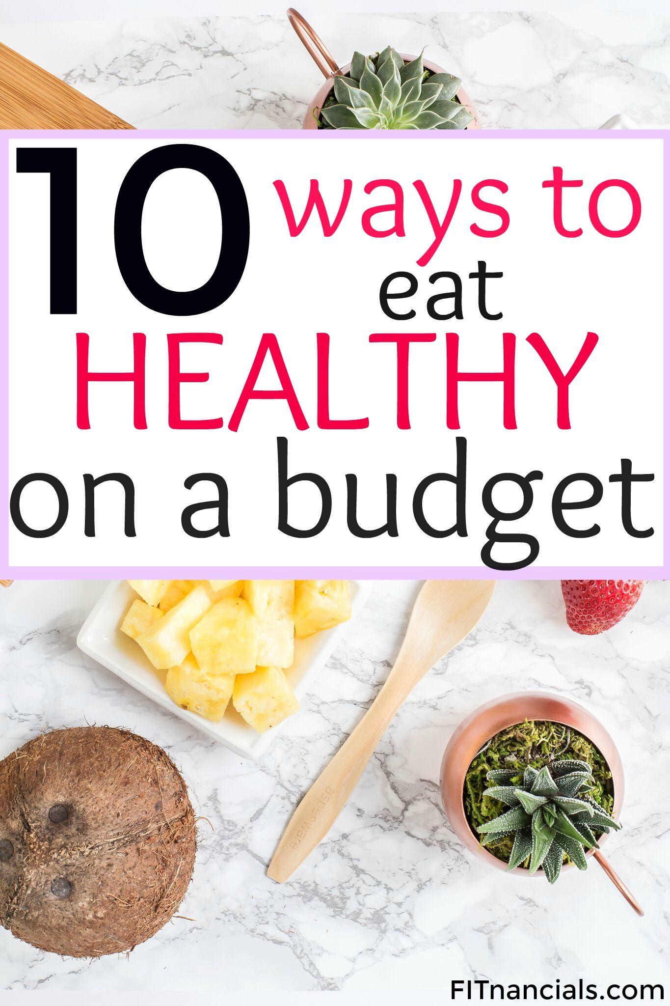 Economical healthy lifestyle 16