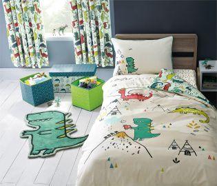 Buy Dinosaur Shape Rug From The Next Uk Online Shop Childrens Bed Linen Quality Bedroom Furniture Dinosaur Bed Set