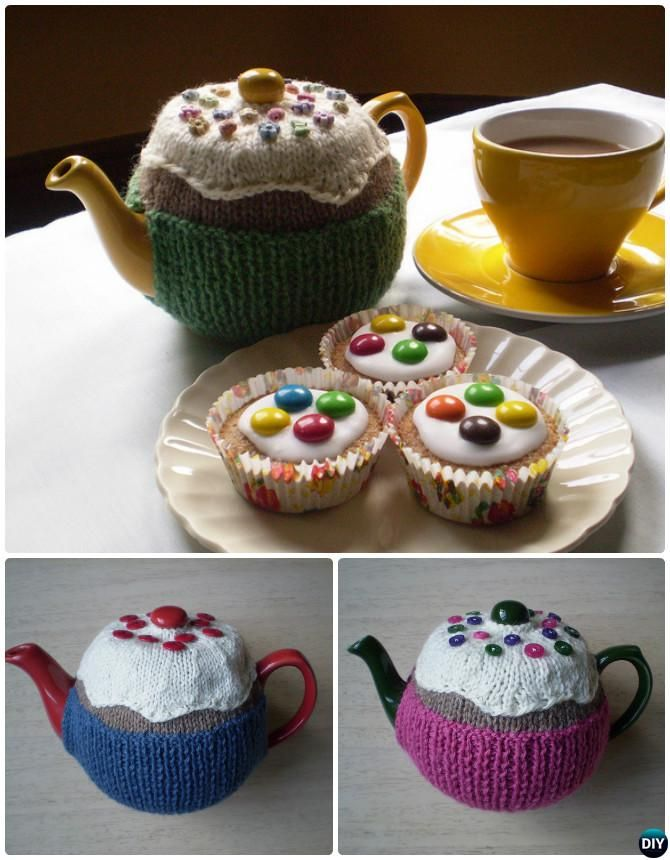 Knit Fairy Cake Tea Cosy Free Pattern 20 Crochet Knit Tea Cozy Free