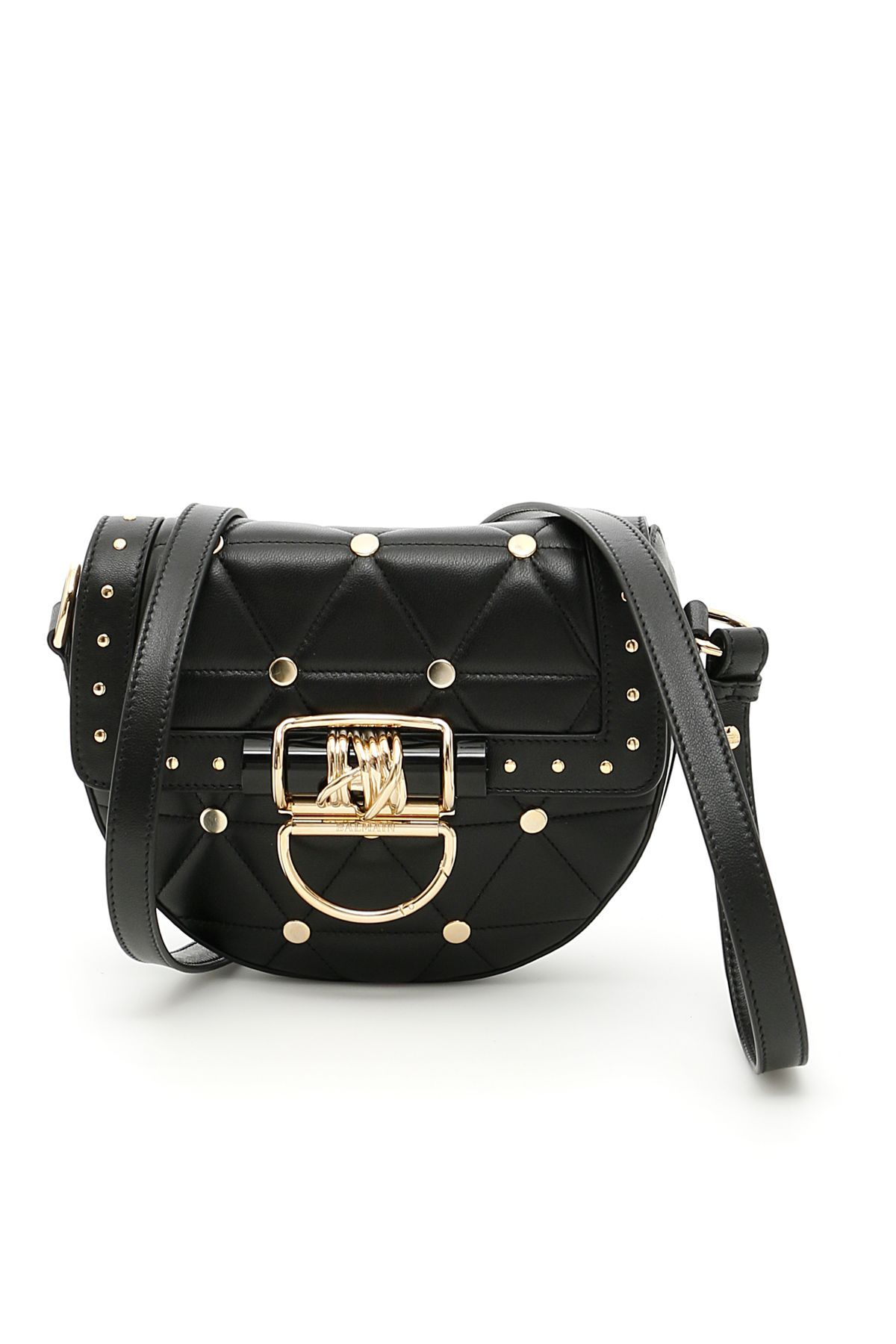 ffb4c502633d BALMAIN STUDDED BAG.  balmain  bags  shoulder bags  leather  lining ...