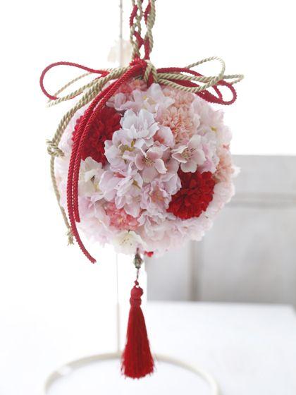 「桜  ブーケ 和装」の画像検索結果