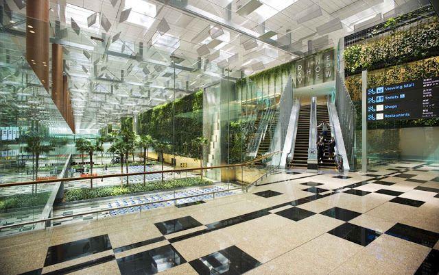 Virginia Duran Blog- Amazing Airports- Changi Singapore's Airport by SOM Interior
