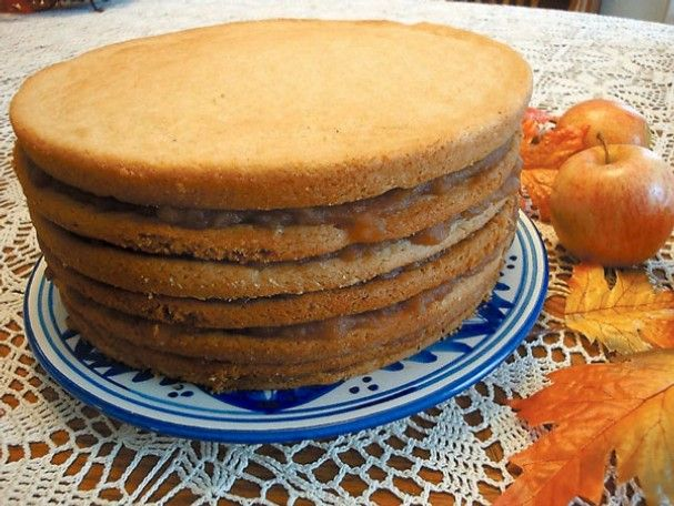 Old Fashion Apple Butter Stack Cake
