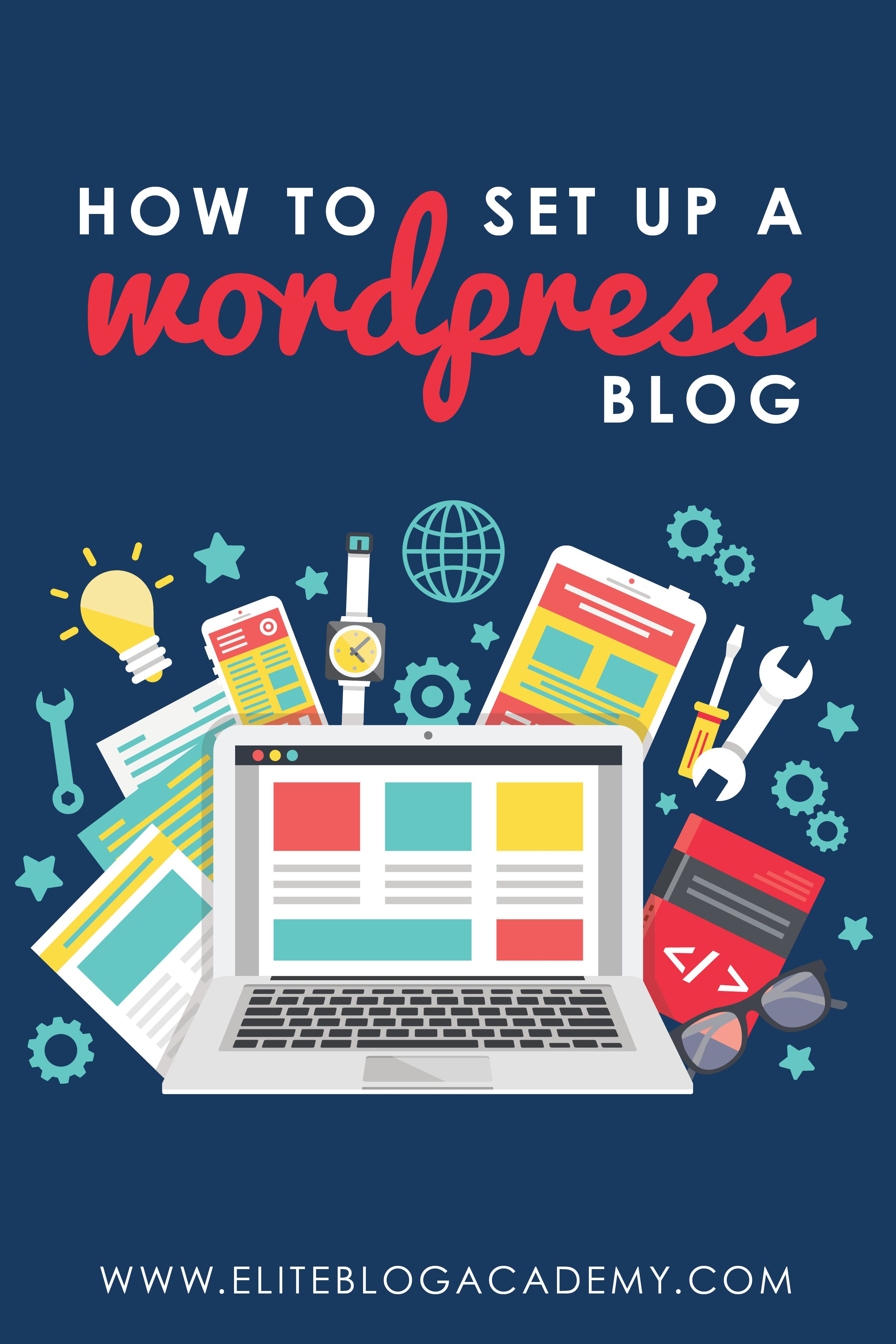 how to make a blogging website for free