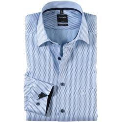Olymp Luxor Hemd, modern fit, Extra langer Arm, Marine, 37 Olymp
