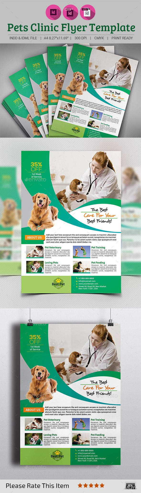 Pin On Business Flyer Template