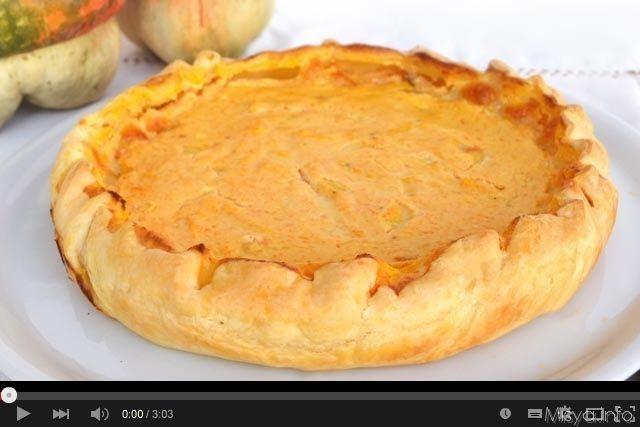 Ricetta Quiche Misya.Video Ricetta Torta Salata Con Zucca E Ricotta Ricetta Ricette Torte Salate Idee Alimentari