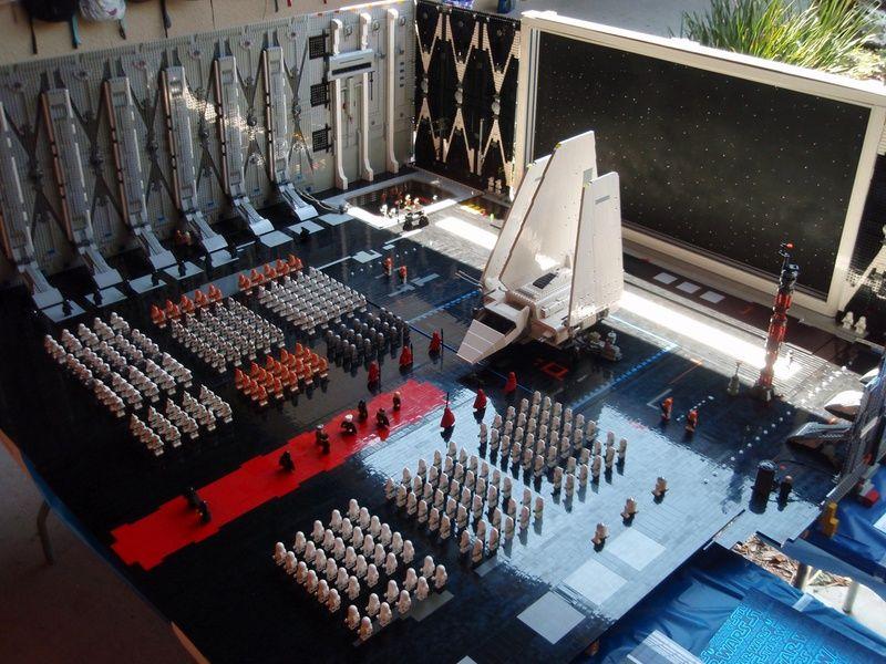Episode VI lego diorama