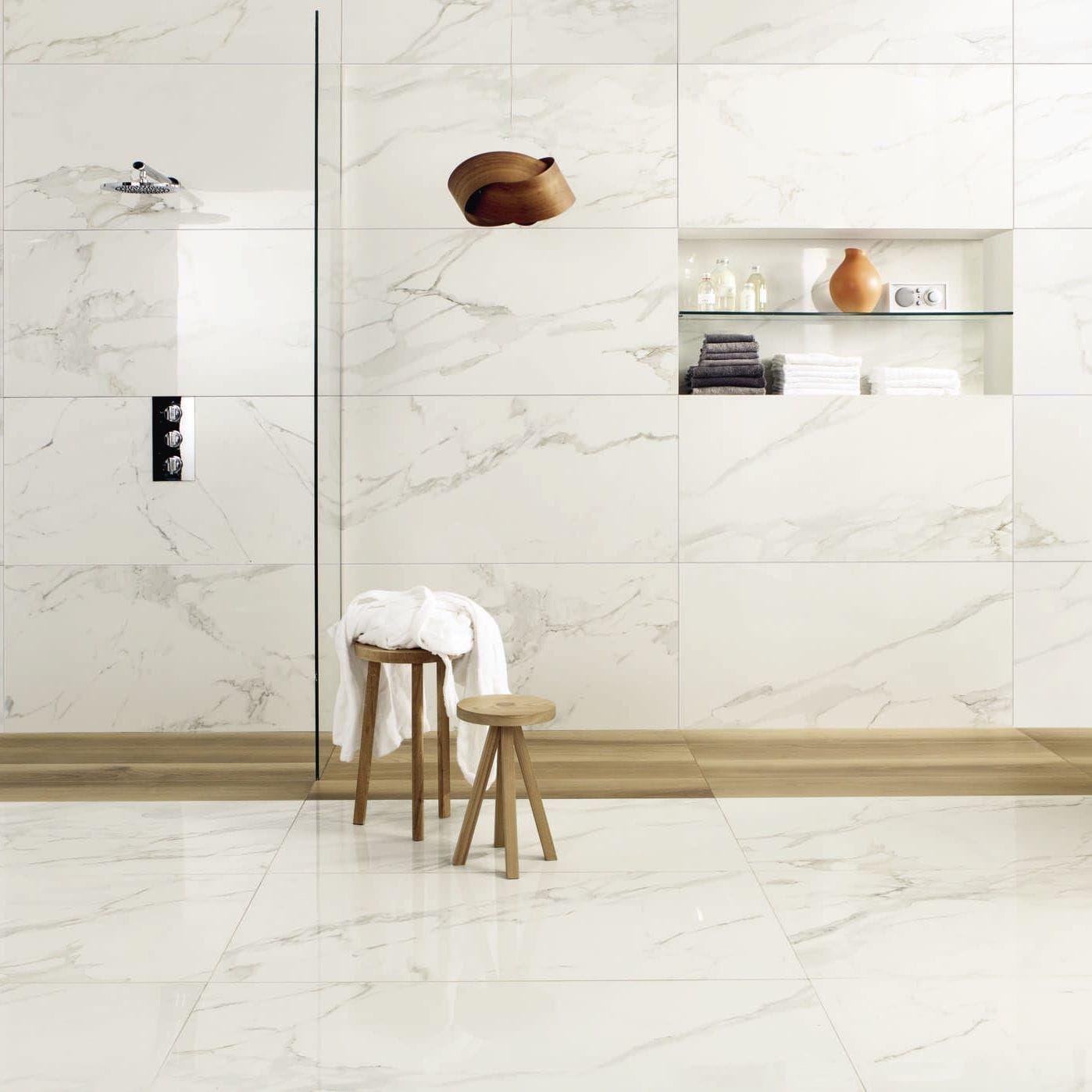 Marmoroptik Fliese / Wandmontiert / Für Fußboden / Feinsteinzeug ANIMA :  CALACATTA ORO CERAMICHE CAESAR