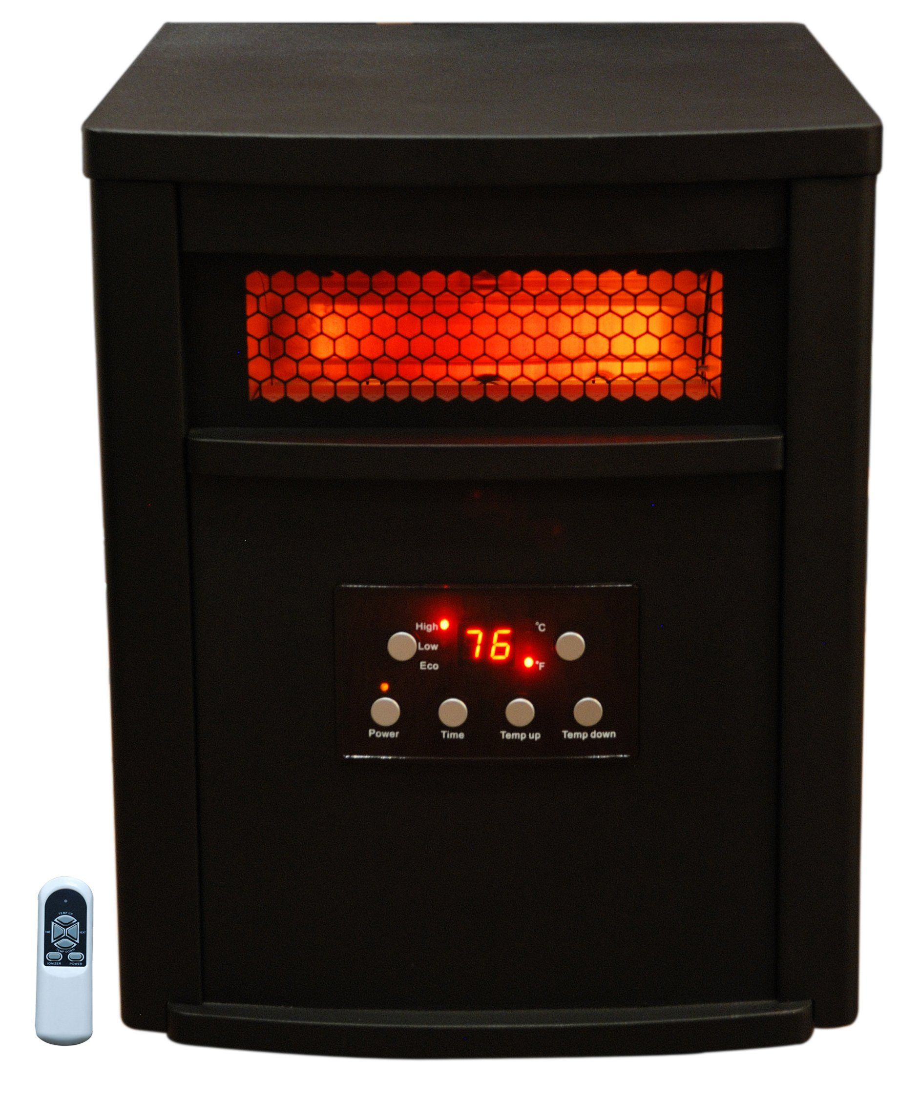 Lifesmart Life Pro Large Room 6 Element Infrared Heater Wremote