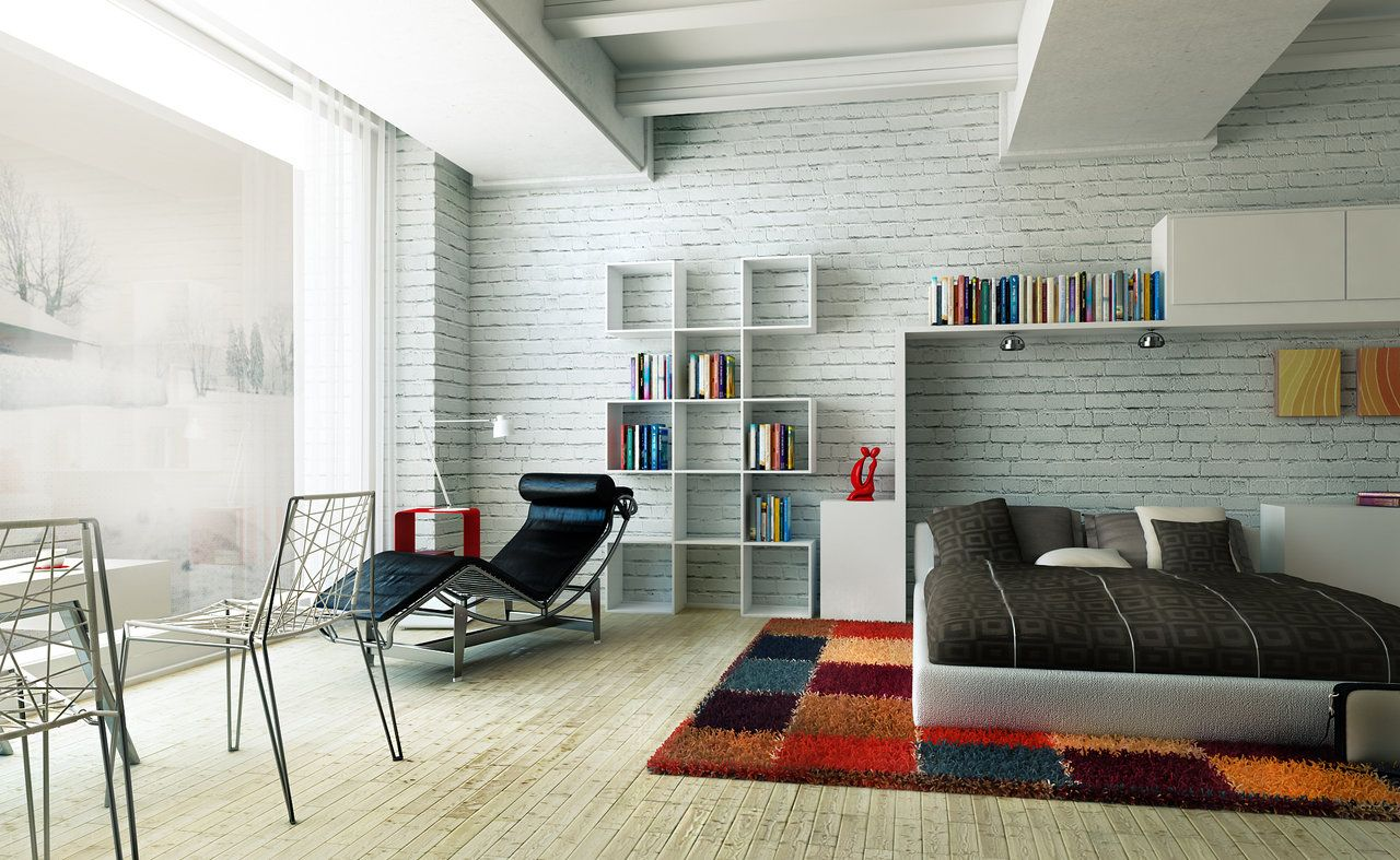 Superior 30 Best Ideas About Living Rooms With White Brick Walls