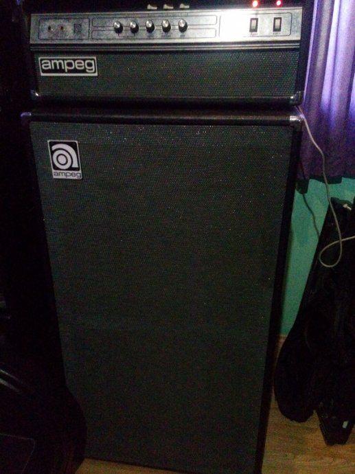"Ampeg V4b head + 2X15"" cabinet"