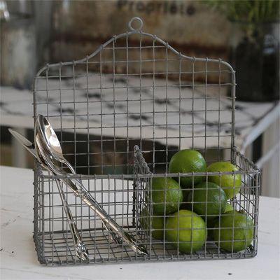 Grafelstein - Wohnambiente \ Gartenaccessoires - Küche - Wandkorb - shabby chic küchen