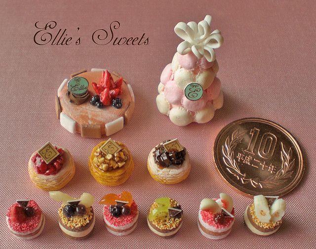 Miniature Sweets Macaron Tower