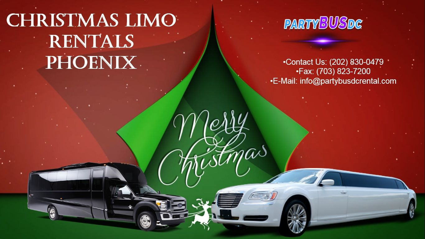 PartyBusDCRental Christmas LimoRentals Phoenix Party