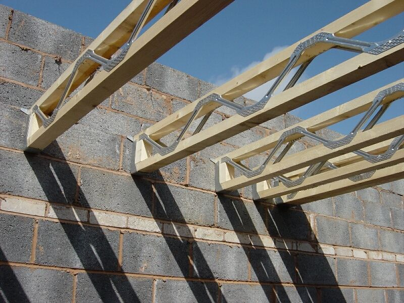 Prefab i joist buscar con google estructura for Floor joist construction