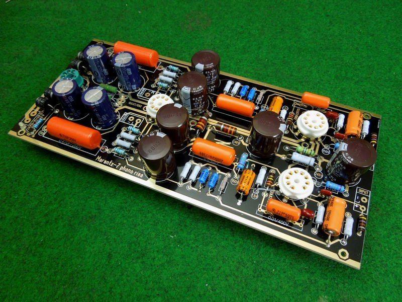 12AX7 Vacuum Tube Pre-amplifier HiFi Stereo Home Audio Preamp DIY KIT Marantz M7