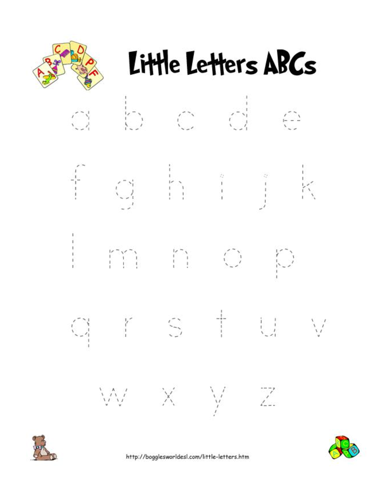Letter Worksheet Printable