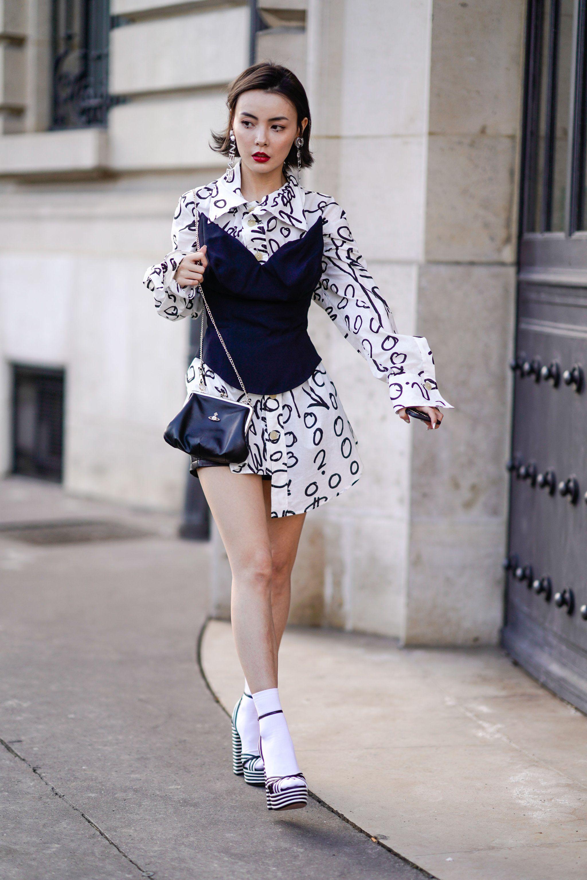 Trends fashion denim skirts make a comeback