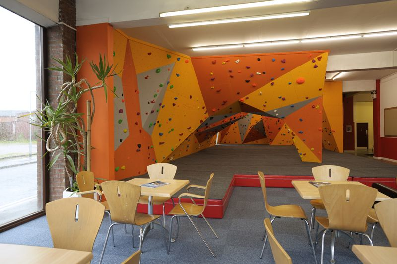 Want To Build A Bouldering Cave With A Pillar Like This In My
