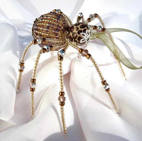 Christmas Spider Ornaments Folk Art Legend of Tinsel and ...