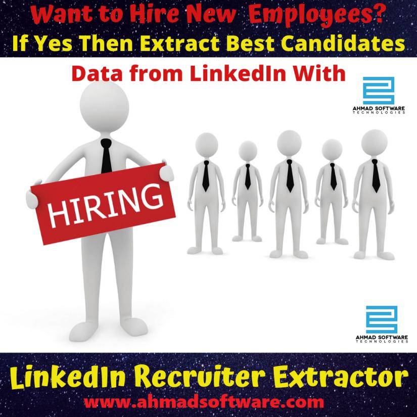 LinkedIn Scraper How do companies seek new talent