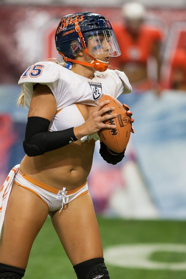 Lingerie football league players naked