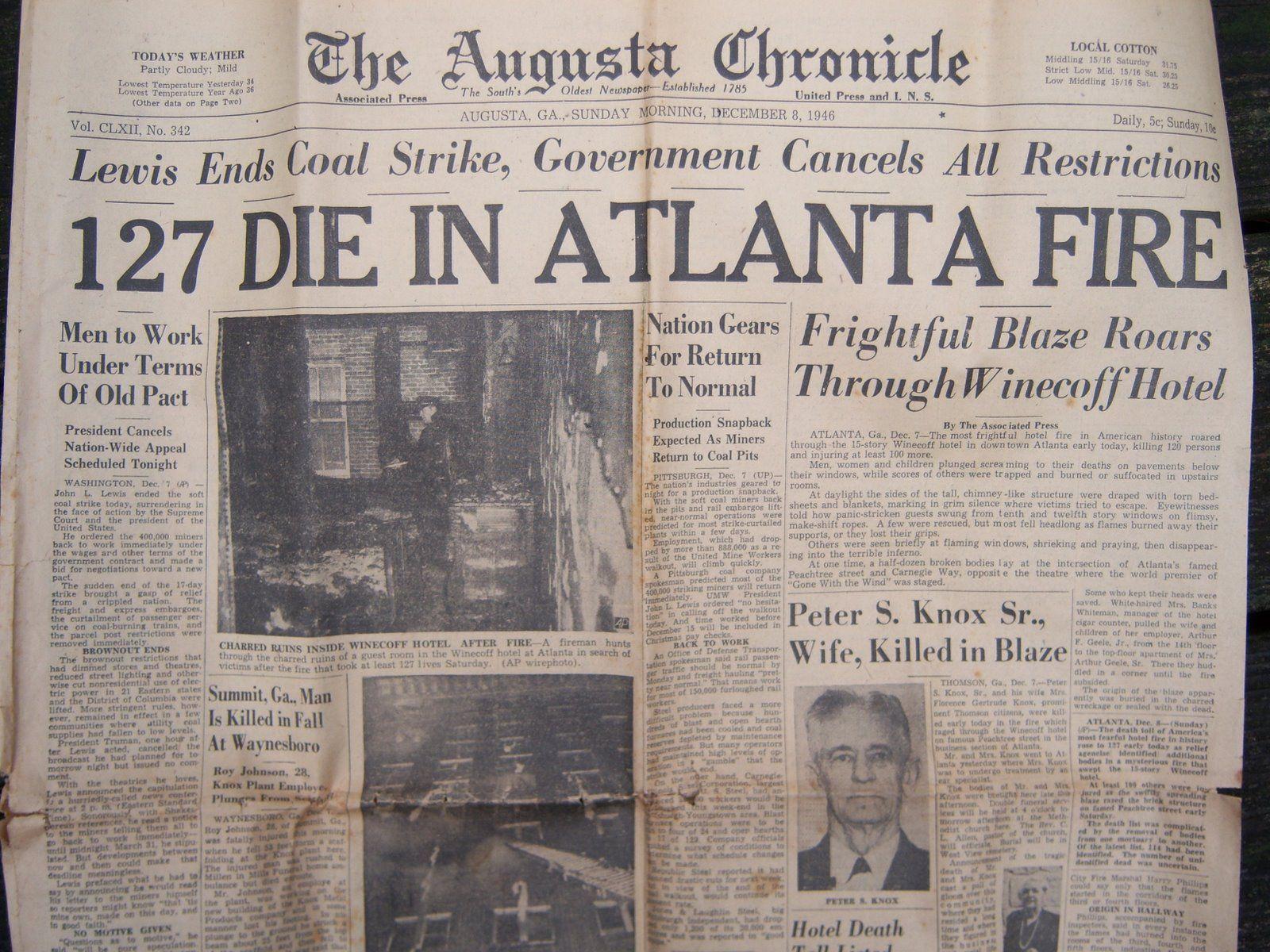 Vintage newspaper headline crime gangster scarface al capone – Vintage Newspaper