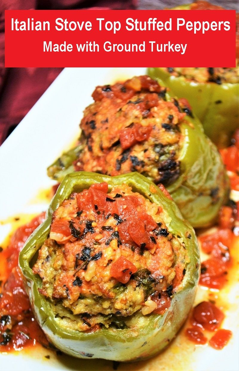 Italian Stove Top Stuffed Peppers In 2020 Stuffed Peppers Vegan Recipes Easy Easy Cooking Recipes