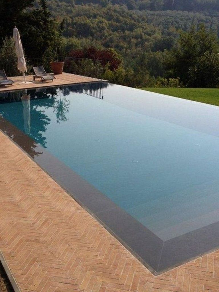 Pool Hanglage 21+ Amazing Modern Black Tile Design Ideas Swimming Pool #swimmingpooldesign #swimmingworkout #poollandscaping | Schwimmbad-designs, Haus Hanglage, Pool Ideen