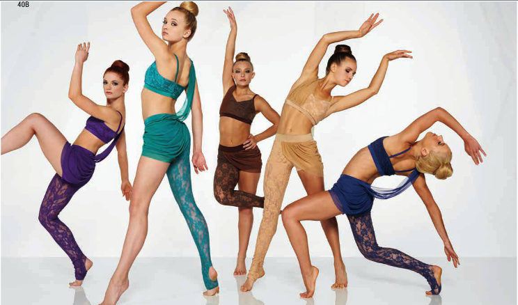 Freaking Contemporary Dance Kelle Catalog 2014 Style 6749 40b Set