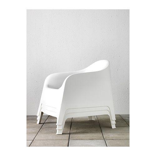 Skarpo Fauteuil Exterieur Blanc Met Afbeeldingen Ikea
