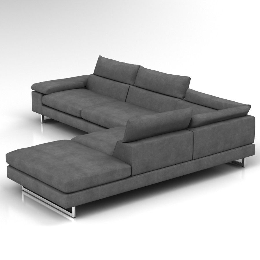Natuzzi Editions Pisa Corner Sofa 3d Model Files Max2012 Obj Revir Rfa Family 7 00 Corner Sofa Sofa Natuzzi