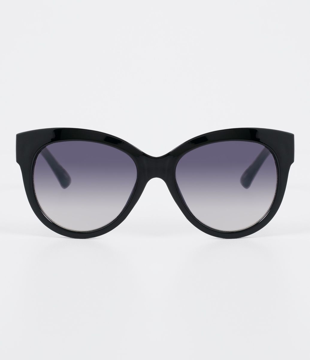Óculos de sol Modelo redondo Hastes em acetato Lentes degradê em acrílico  Proteção contra raios UVA   UVB Acompanha um estojo e flanela de limpeza  Garantia ... 86a9ead302