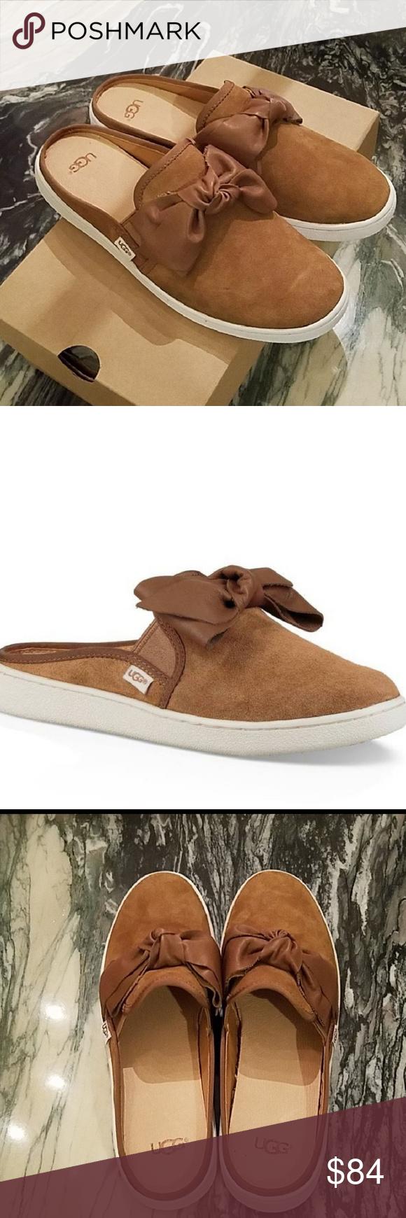UGG Ida Mule Sneaker in Chestnut Cognac