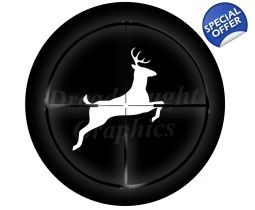 Deer In Scope Tire Cover Tirecovers4jeeps Sparetirecover