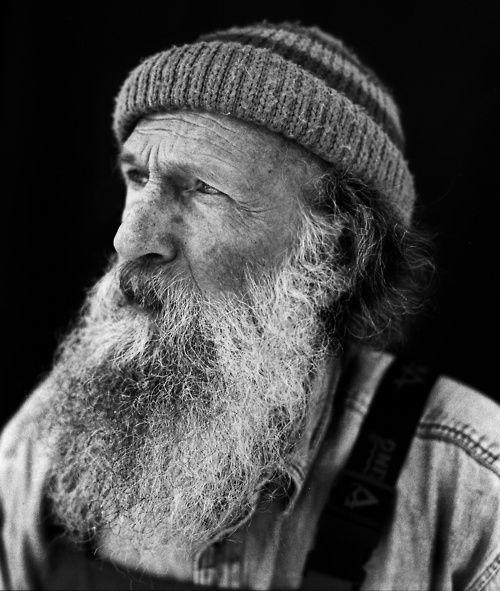 Old man beard...