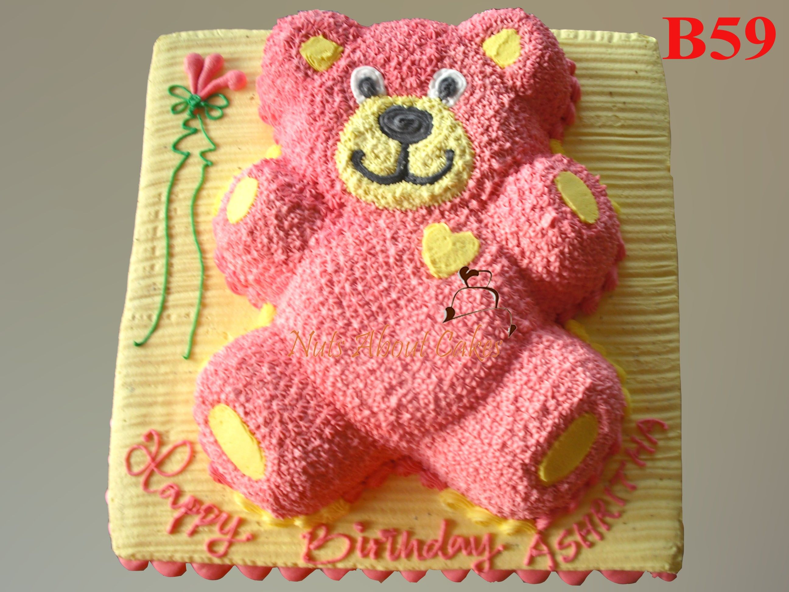Pink Teddy Bear Cake Pink Teddy Bear Teddy Bear Cakes Pink Teddy
