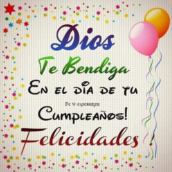 Feliz cumpleanos mi amiga dios te bendiga